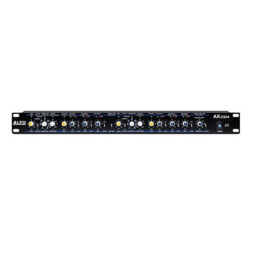 Alto AX2304 Professional High-Precision Stereo 2-Way / 3-Way / Mono 4-Way Crossover