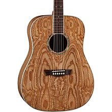 AXS Dreadnought Quilt Acoustic Guitar Natural