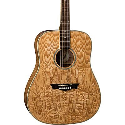 Dean AXS Dreadnought Quilt Acoustic Guitar