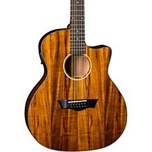 Dean AXS Exotic Cutaway Acoustic-Electric 12-String Guitar