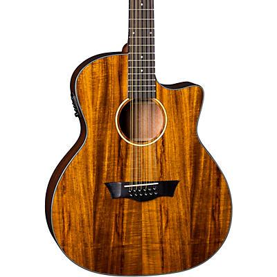 Dean AXS Exotic Cutaway Acoustic-Electric 12-String Guitar