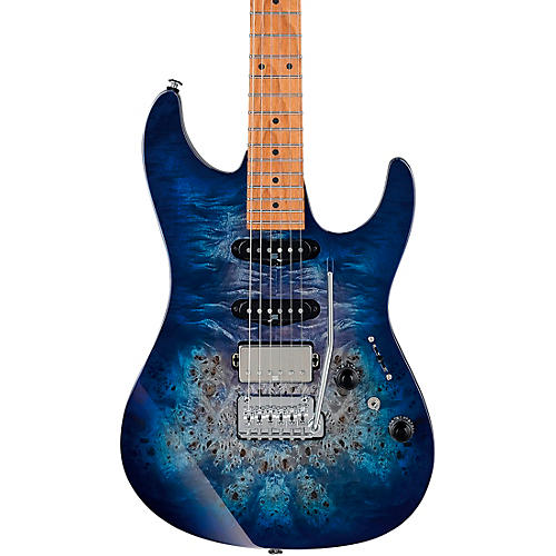 Ibanez AZ226PB AZ Premium Electric Guitar Cerulean Blue Burst