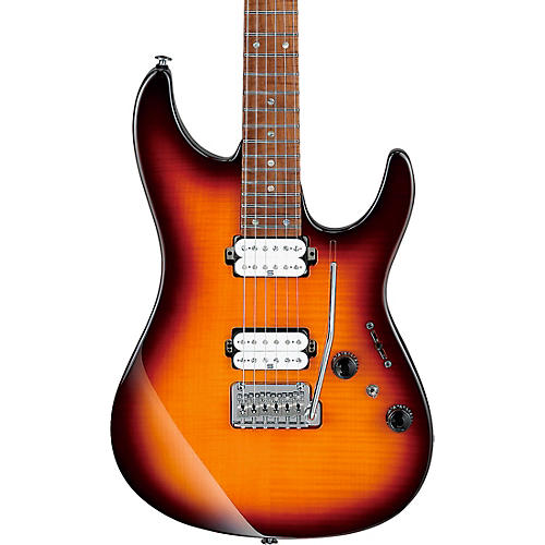Ibanez AZ2402FF AZ Prestige Limited Edition Electric Guitar Regal Brown Burst