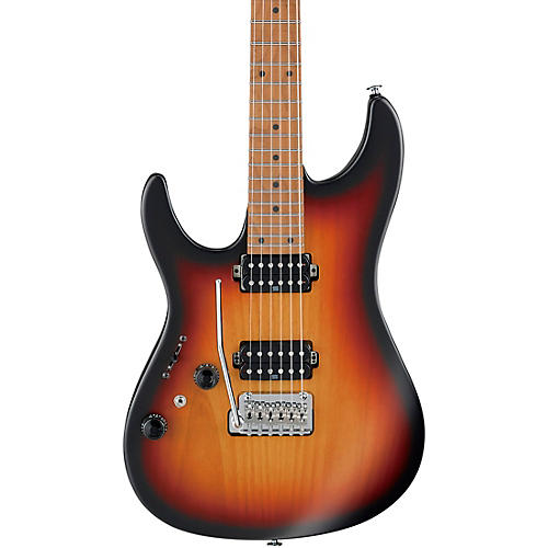 Ibanez AZ2402L AZ Prestige Electric Guitar Tri Fade Burst Flat