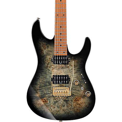 Ibanez AZ242PBG AZ Premium Electric Guitar Charcoal Black Burst