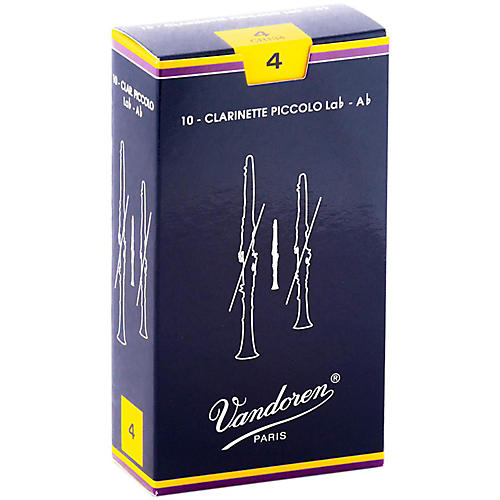 Vandoren Ab Sopranino Clarinet Reeds