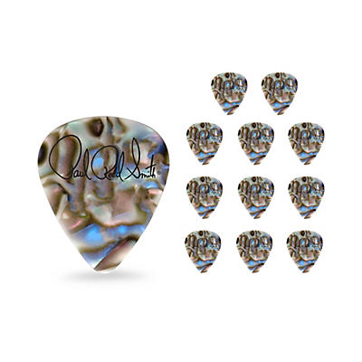 PRS Abalone Shell Celluloid Guitar Picks