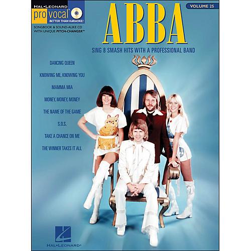 Hal Leonard Abba - Pro Vocal Songbook Female Singer's Edition Volume 25