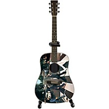 Axe Heaven Abbey Road Fab Four Tribute Mini Acoustic Guitar Replica