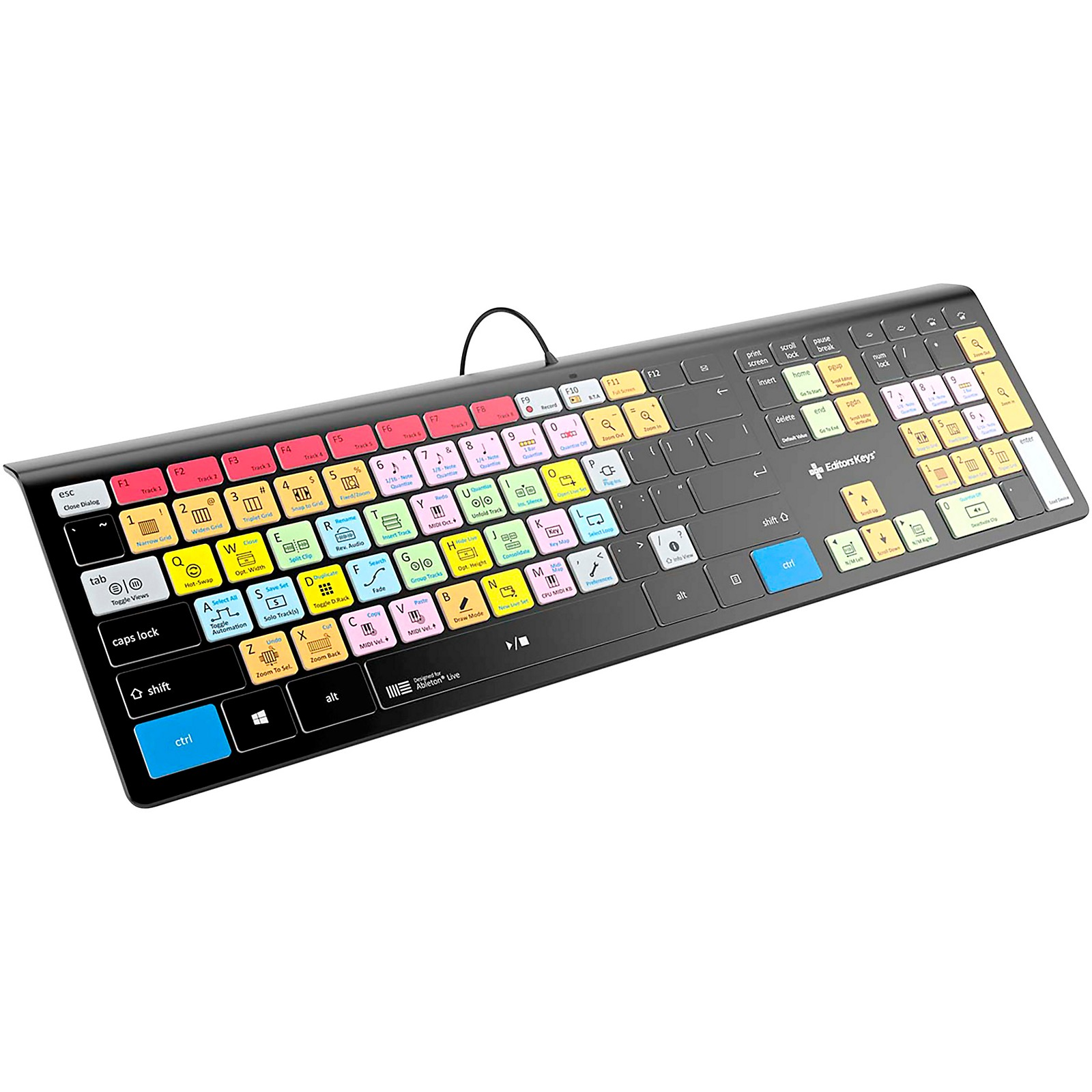 KB Covers Ableton Live Backlit Keyboard, Windows US