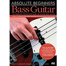 Music Sales Absolute Beginners - Bass Guitar Music Sales America Series DVD