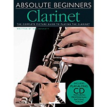 Music Sales Absolute Beginners - Clarinet Music Sales America Series BK/CD Written by Ned Bennett