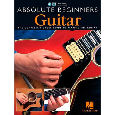 Music Sales Absolute Beginners - Guitar (Book/CD/DVD Value Pack) Music Sales America Series Written by Various