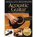 Wise Publications Absolute Beginners Acoustic Guitar Music Sales America Series Softcover Audio Online by David Harrison thumbnail