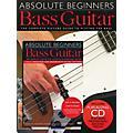 Music Sales Absolute Beginners: Bass (Book/CD/DVD) thumbnail