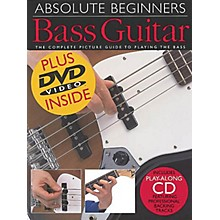 Music Sales Absolute Beginners: Bass Guitar (Book/CD/DVD Value Pack) Music Sales America Series by Various Authors