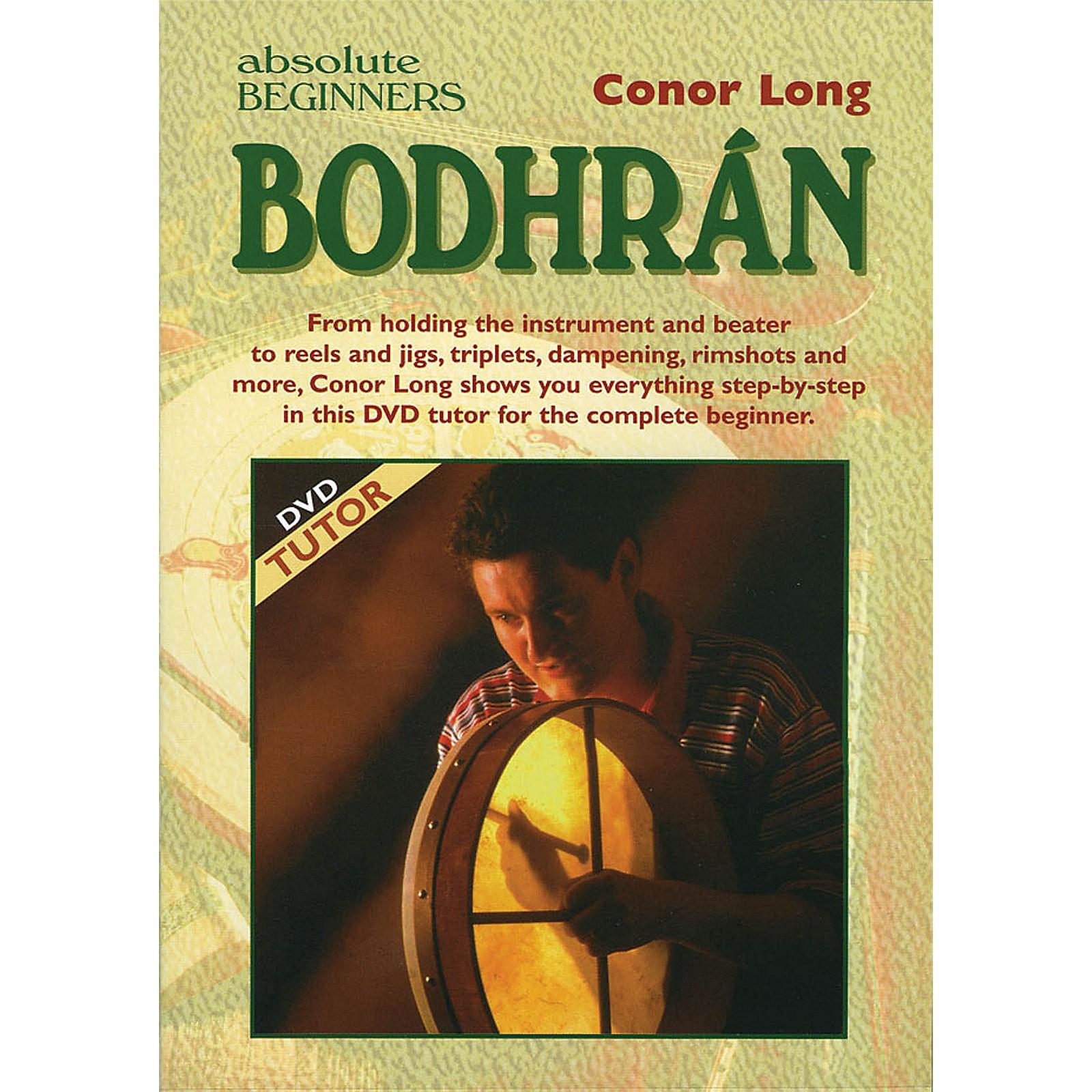 Waltons Absolute Beginners: Bodhrán Waltons Irish Music Dvd Series DVD Written by Conor Long