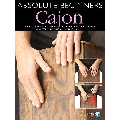 Music Sales Absolute Beginners Cajon Book/CD