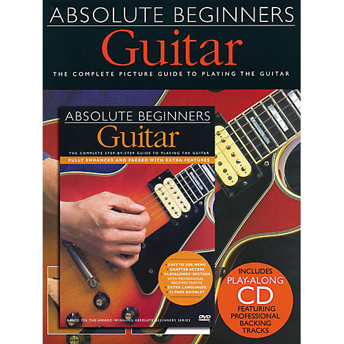 Music Sales Absolute Beginners: Guitar (Book/CD/DVD)