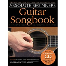 Music Sales Absolute Beginners Guitar Songbook (Book/CD)