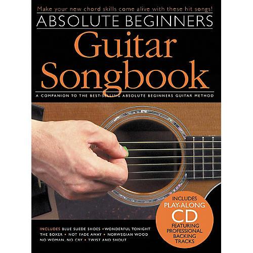 Music Sales Absolute Beginners Guitar Songbook (Book/CD)