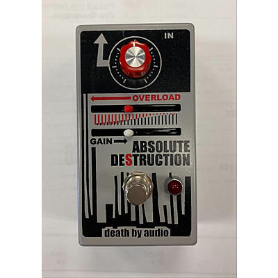 Death By Audio Absolute Destruction Overdrive Effect Pedal