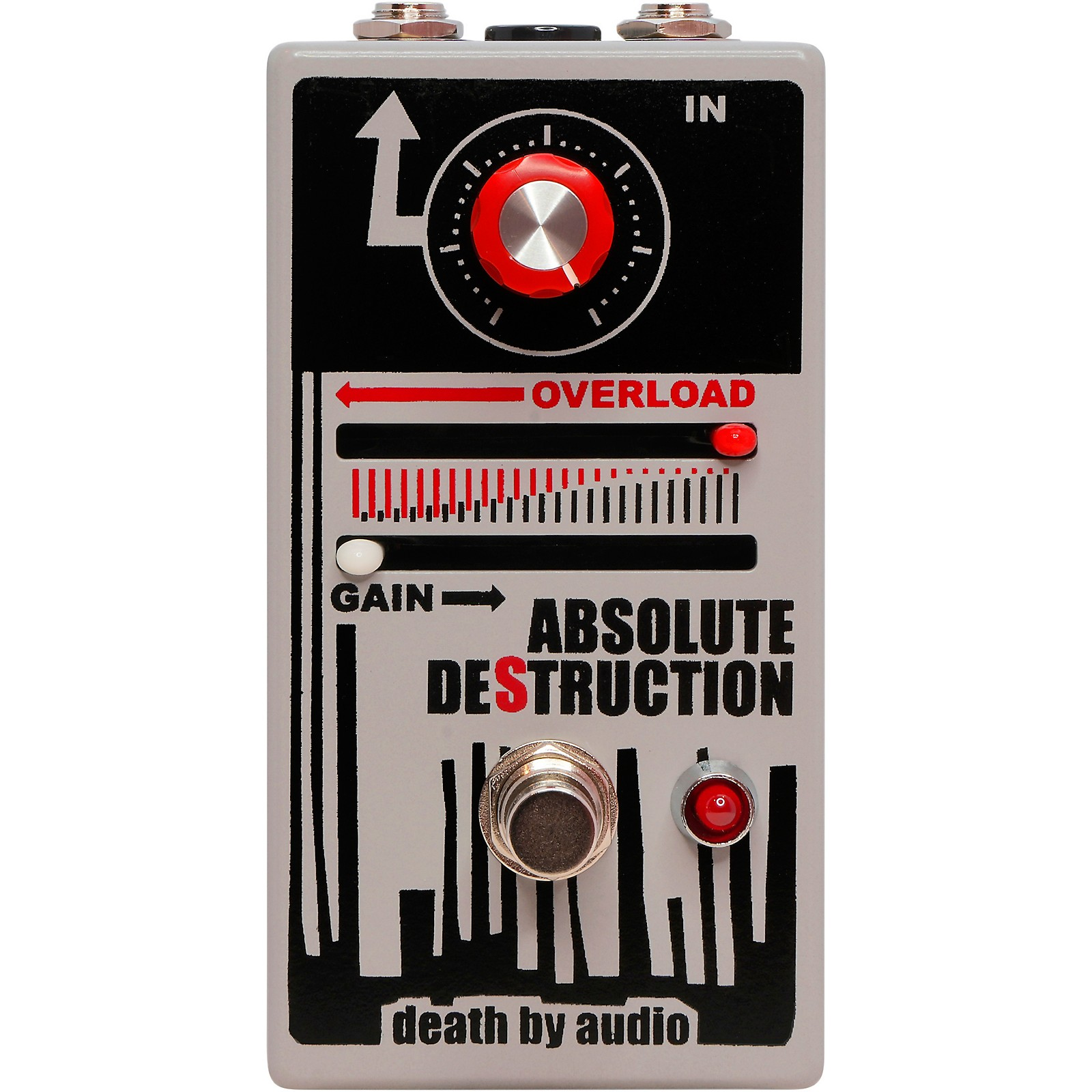 Death By Audio Absolute Destruction Overloading Power Amplifier Distortion Effects Pedal