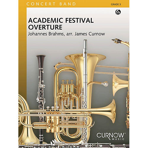 Curnow Music Academic Festival Overture (Grade 3 - Score and Parts) Concert Band Level 3 Arranged by James Curnow