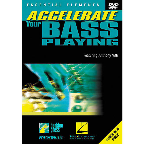 Homespun Accelerate Your Bass Playing (DVD)