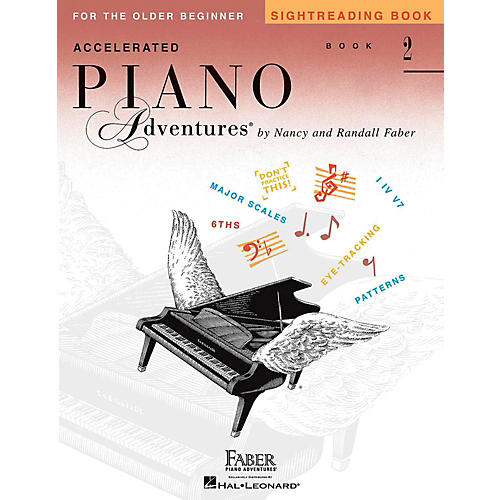 Faber Piano Adventures Accelerated Piano Adventures Sightreading Book 2