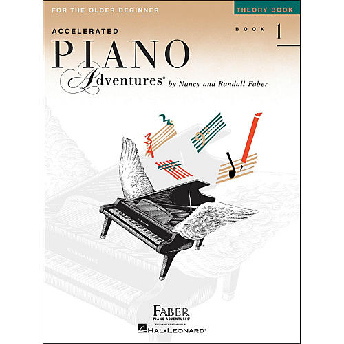 Faber Piano Adventures Accelerated Piano Adventures Theory Book 1 For The Older Beginner
