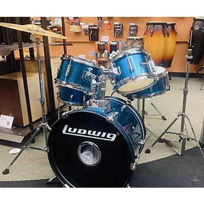 Ludwig Accent CS Combo Junior Drumsetw Original Hardware Drum Kit