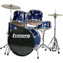 Accent Combo 5-piece Drum Set Blue