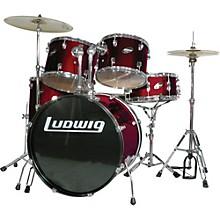 Accent Combo 5-piece Drum Set Wine