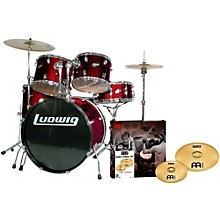 Accent Combo 5-piece Drum Set with Meinl Cymbals Wine
