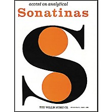 Willis Music Accent On Analytical Sonatinas by William Gillock