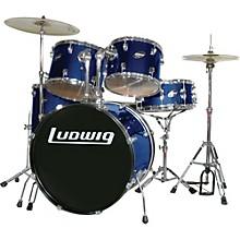Accent Series Complete Drum Set Blue