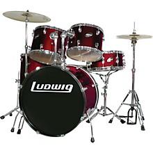 Accent Series Complete Drum Set Wine