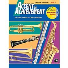 Alfred Accent on Achievement Book 1 E-Flat Baritone Saxophone Book & CD