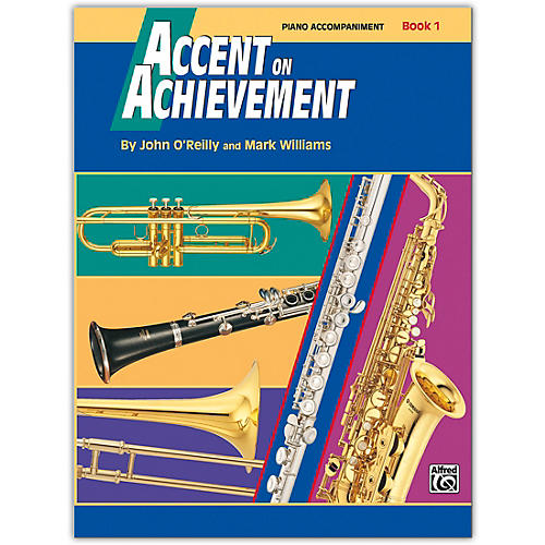 Alfred Accent on Achievement Book 1 Piano Acc. with CD