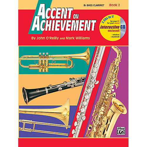Alfred Accent on Achievement Book 2 B-Flat Bass Clarinet Book & CD