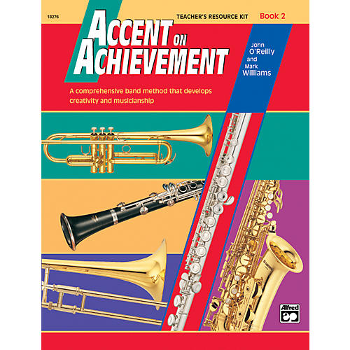 Alfred Accent on Achievement Book 2 Teacher's Resource Kit