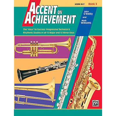 Alfred Accent on Achievement Book 3 Horn in F