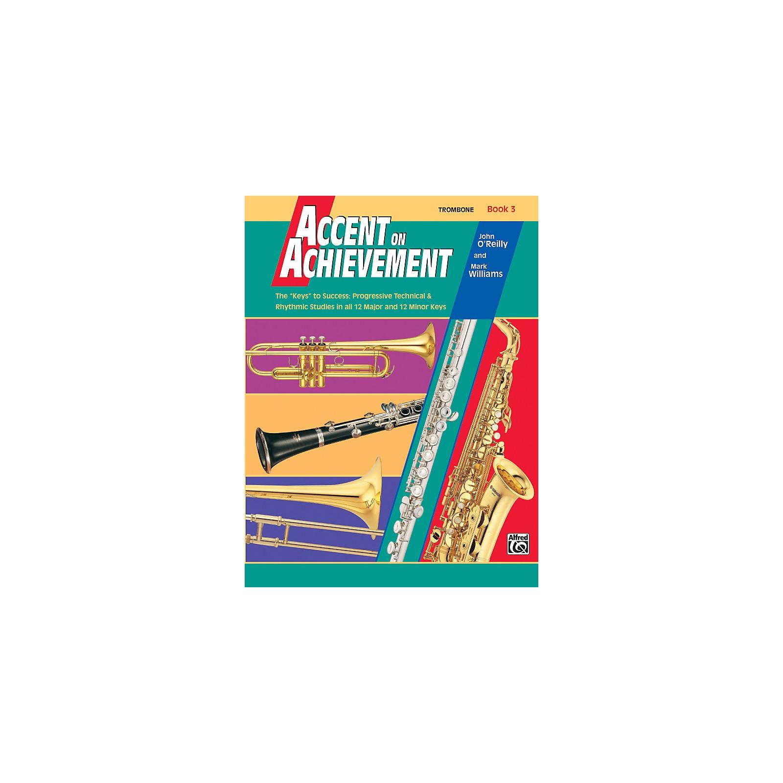 Alfred Accent on Achievement Book 3 Trombone