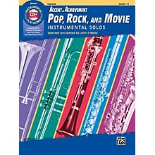 Alfred Accent on Achievement Pop, Rock, and Movie Instrumental Solos Clarinet Book & CD