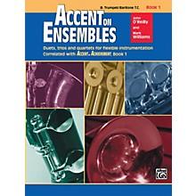 Alfred Accent on Ensembles Book 1 Trumpet Baritone T.C.