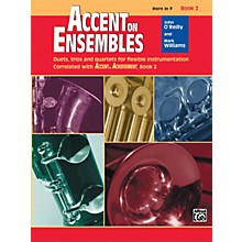 Alfred Accent on Ensembles Book 2 Horn in F
