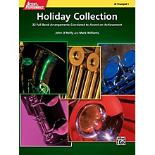 Alfred Accent on Performance Holiday Collection Trumpet 1 Book