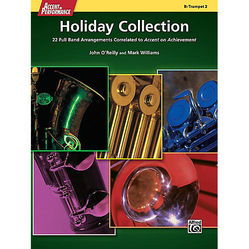 Alfred Accent on Performance Holiday Collection Trumpet 2 Book