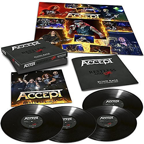 Alliance Accept - Restless & Live